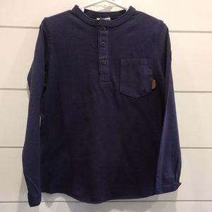 NWT Zara Navy boys shirt